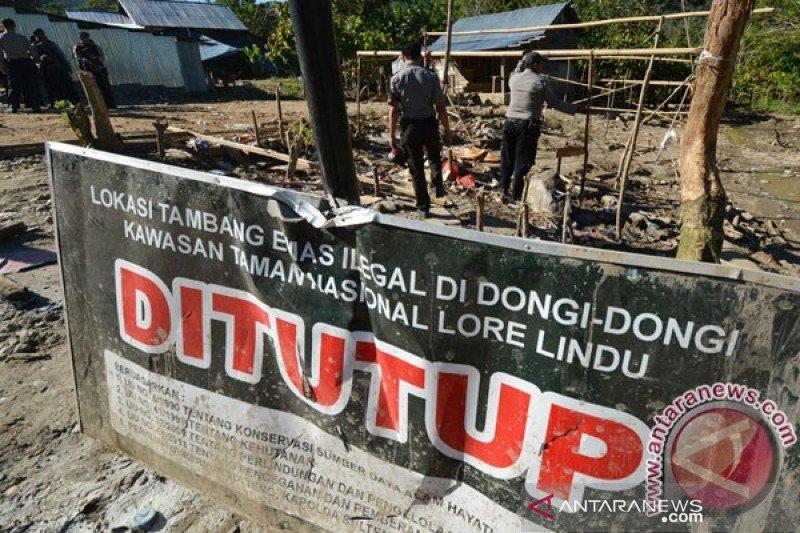 Aktivis minta aparat hentikan penggunaan merkuri olah tambang Sulteng