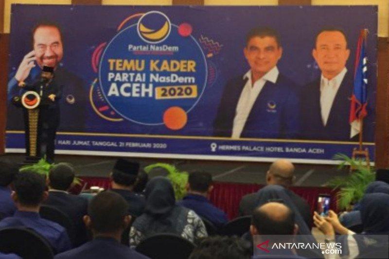 Puluhan ribu warga Surabaya direkrut jadi kader NasDem