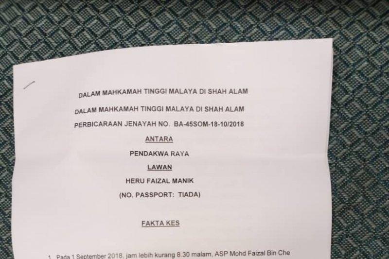 WNI asal Asahan divonis 10 tahun penjara di Malaysia