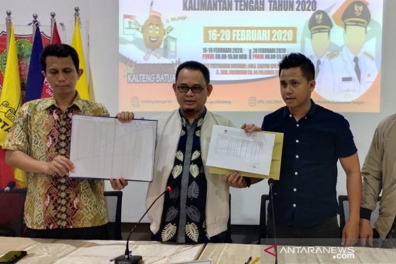 KPU: Pilkada Kalteng 2020 tak ada bakal calon perseorangan
