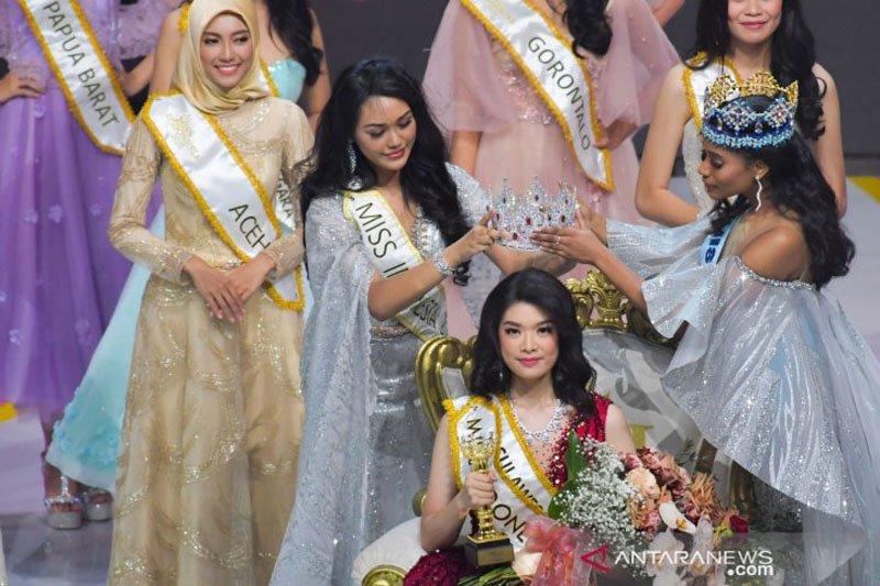 Pricilia Carla Yules asal Sulsel dinobatkan sebagai Miss Indonesia 2020