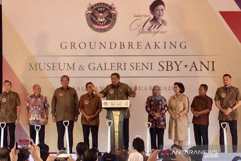 Museum di Pacitan amanah Ani Yudhoyono, sebut SBY
