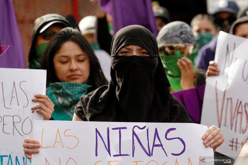 Aktivis feminis di Meksiko tuntut keadilan soal penculikan perempuan