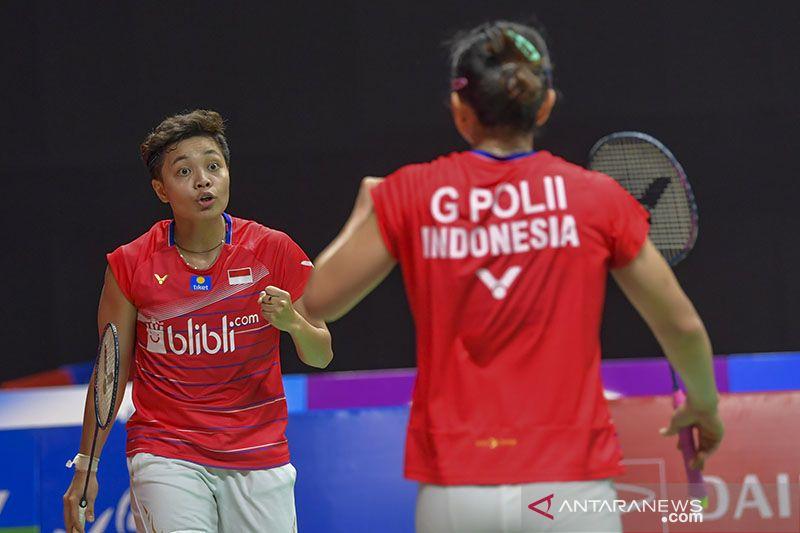 Greysia/Apriyani lalui pasangan Malaysia ke semifinal Thailand Open