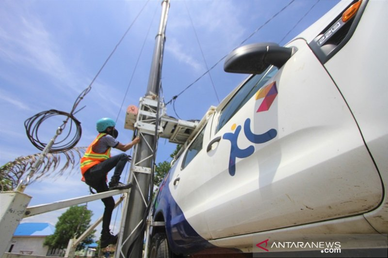 Xl axiata perkuat jaringan di Martapura dan Banjarbaru