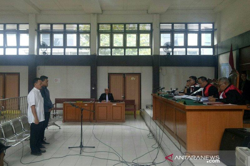 2 terdakwa korupsi jalan bandara pagaralam divonis 4 tahun penjara