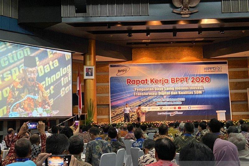 Wapres dorong BPPT tingkatkan kerja sama dengan mitra swasta