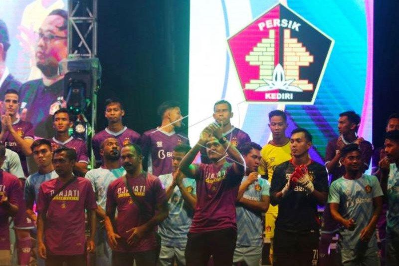 Launching Persik Kediri Liga 1