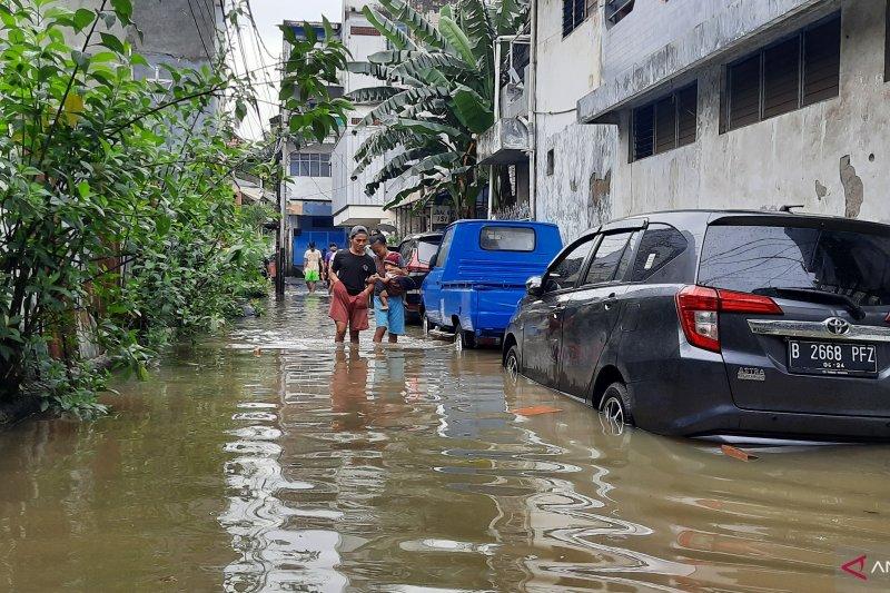 Delapan RW Kelurahan Pasar Baru terdampak banjir