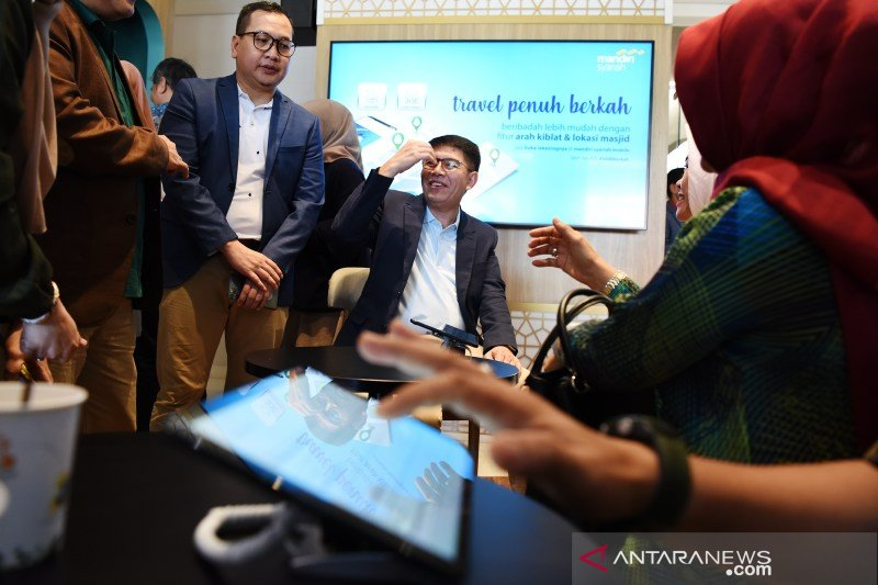 Lauching digital branch bank Syariah Mandiri