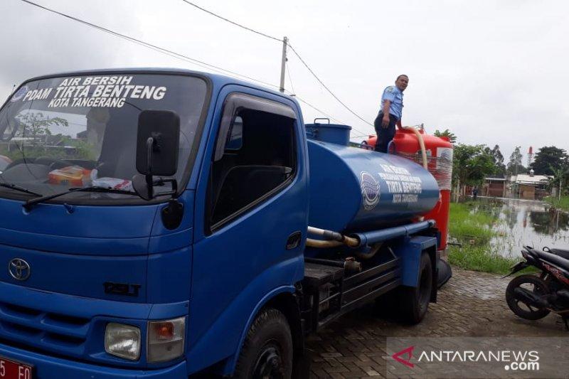 PDAM Tirta Benteng kirim 12.000 liter air bersih untuk korban banjir
