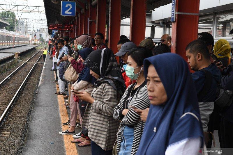 KRL Jakarta Kota-Bogor berangsur normal