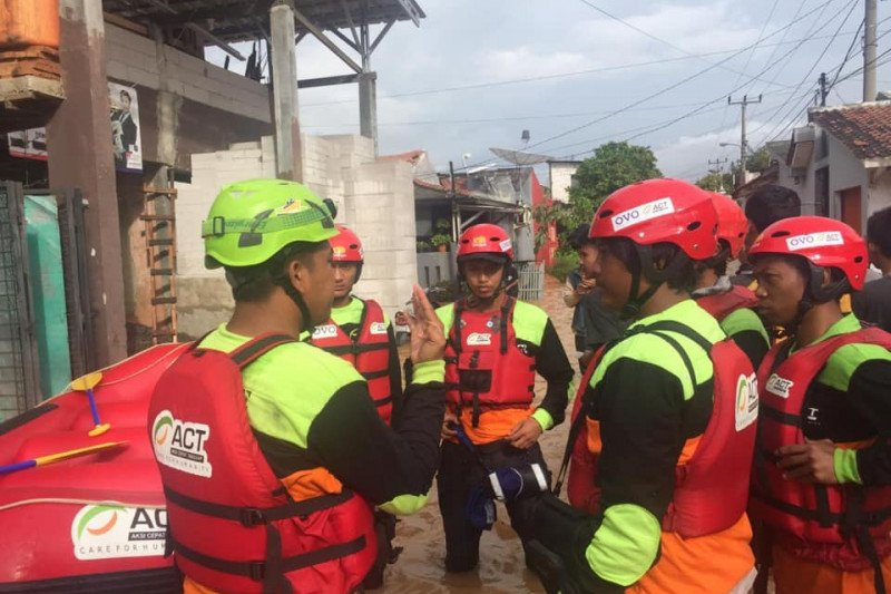 ACT Sulsel galang donasi untuk korban banjir Jakarta