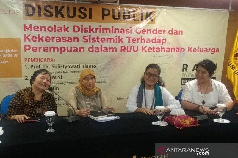 LSM kritik RUU Ketahanan Keluarga bentuk penyeragaman