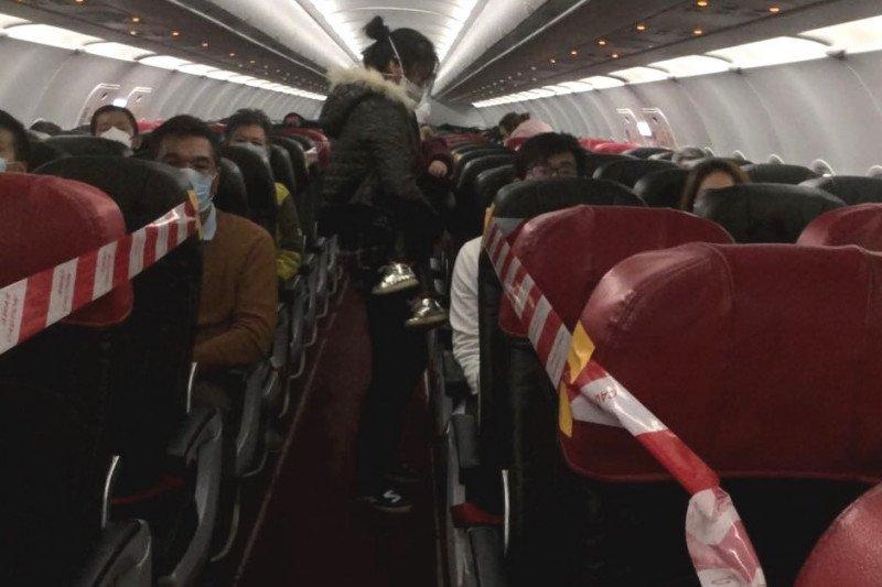 Pesawat khusus misi evakuasi Wuhan kedua tiba di KLIA