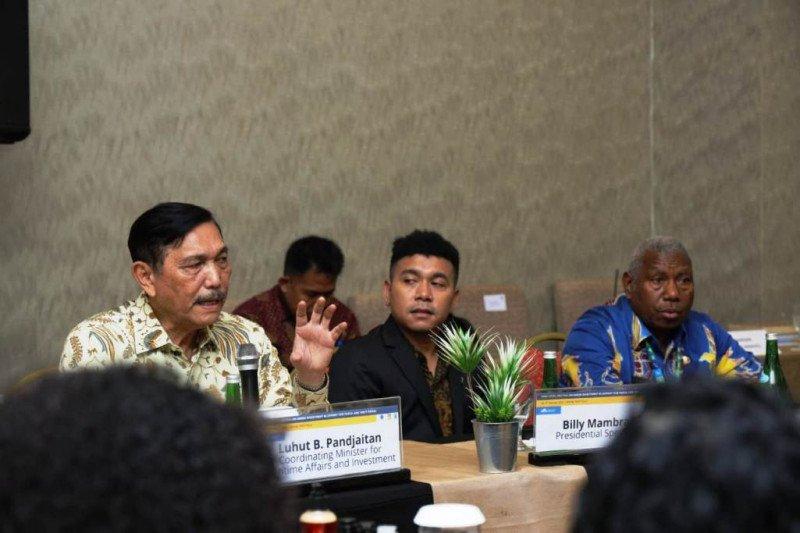 Billy Mambrasar perkenalkan puluhan pengusaha muda Papua