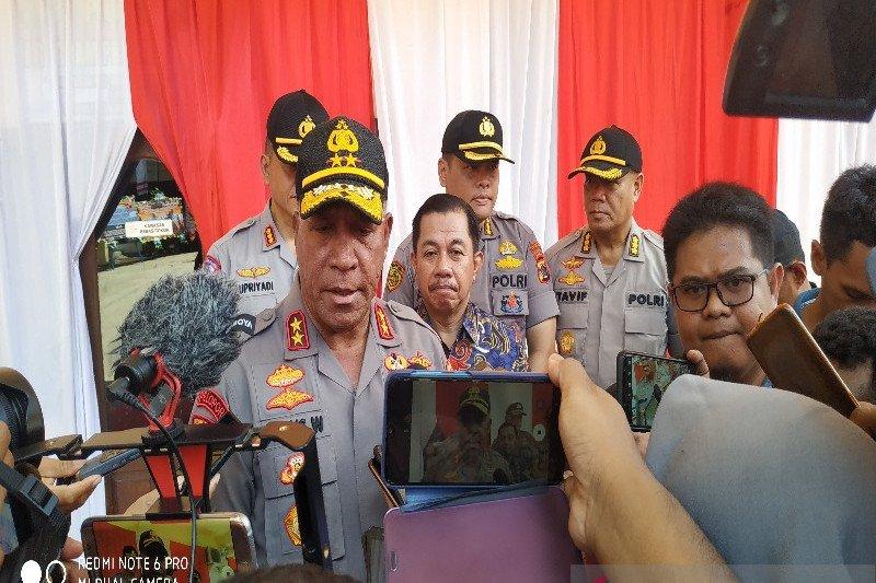 Kapolda Papua: KKB sempat sandera tiga guru kontrak distrik Tembagapura