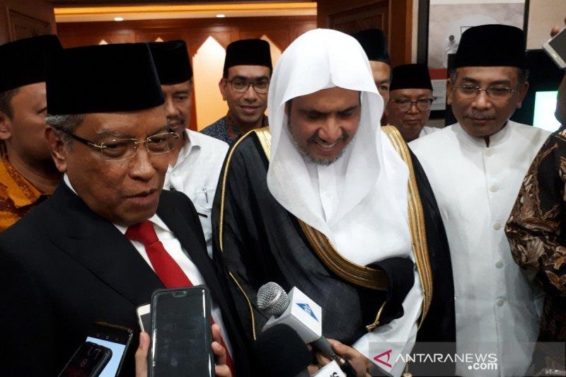 Sekjen Liga Muslim Dunia dukung misi harmonisasi NU