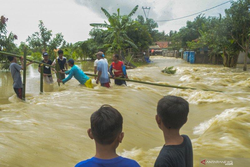 Banjir di Muara Gembong Bekasi