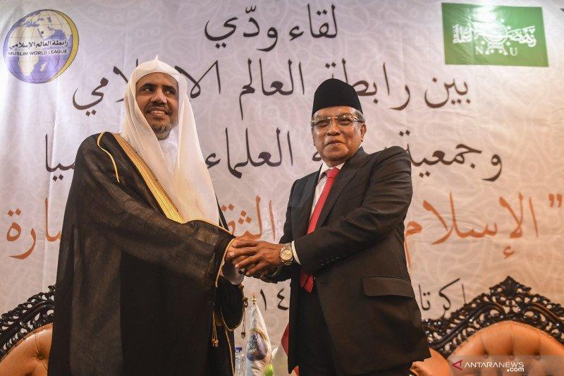Pertemuan PBNU dengan Rabithah Islam