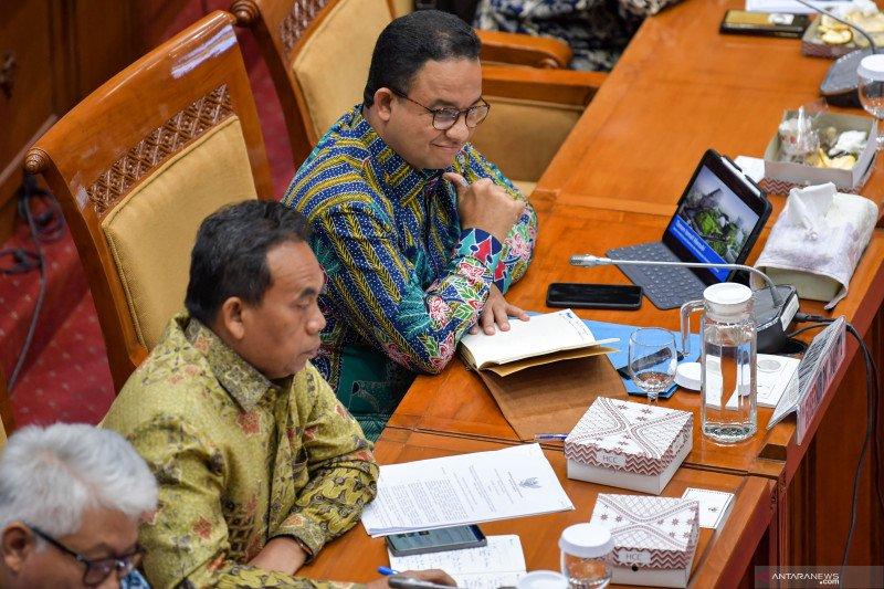 RDP Gubernur DKI Jakarta dengan Komisi X