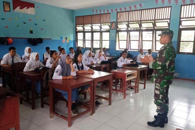 Bahaya narkoba diingatkan kepada pelajar di perbatasan RI-PNG