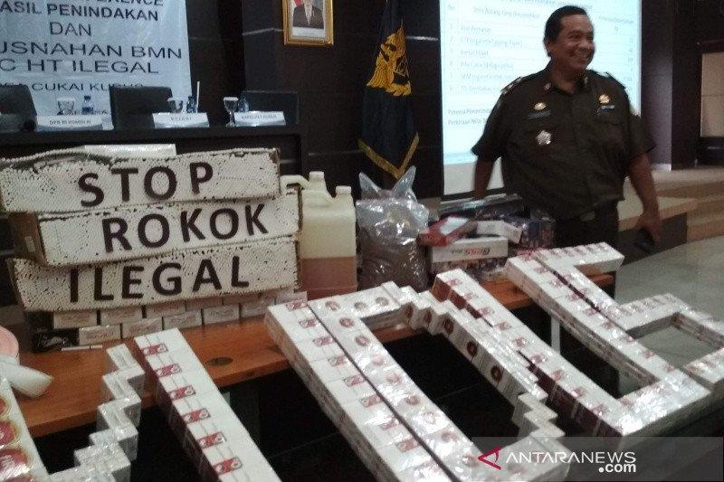 KPPBC Kudus gagalkan pengiriman 81.600 batang rokok ilegal