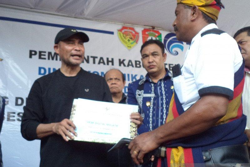 Gubernur NTT resmikan desa digital pertama di Pulau Sumba