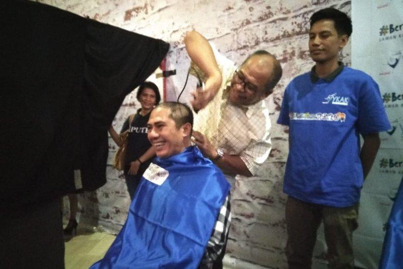 PMI Makassar apresiasi YKAKI-TSM himpun anak penderita kanker