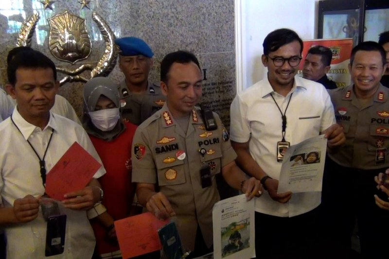 Polisi ungkap penghinaan terhadap Wali Kota Surabaya