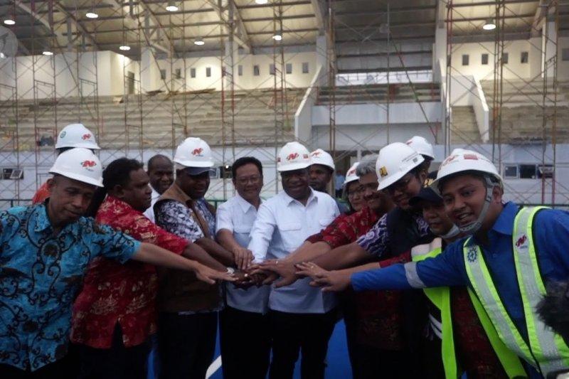 Wamen PUPR: Pembangunan venue akuatik capai 80 persen