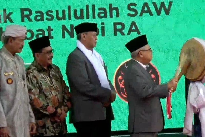 Wapres RI buka pameran artefak Rasulullah SAW