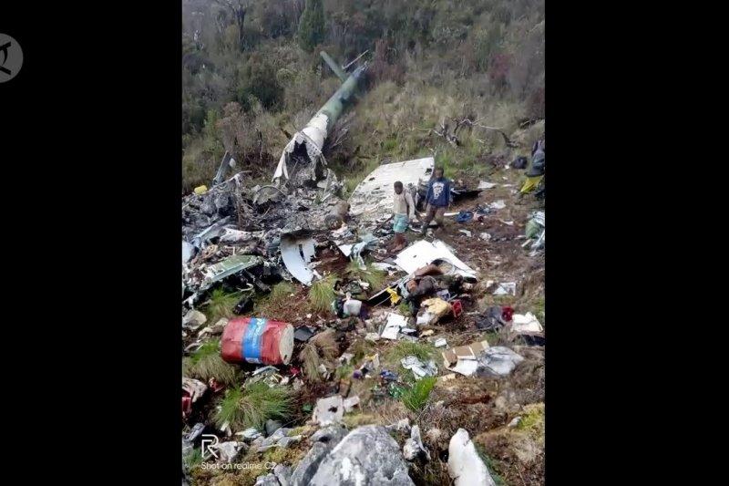 Polda Papua kirim tim bantu pencarian heli MI-17