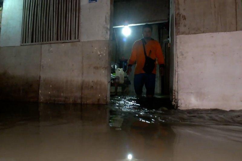 Curah hujan tinggi, puluhan rumah di Jember terendam banjir