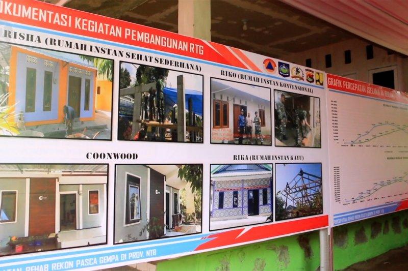 Tinjau rumah tahan gempa Lombok, Wapres berharap korban terdampak semangat