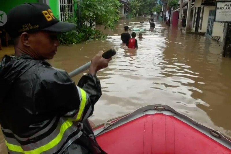 Tangerang Selatan banjir lebih dari 1 meter