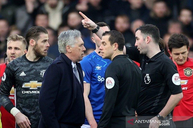 MU terselamatkan VAR dari kekalahan kontra Everton