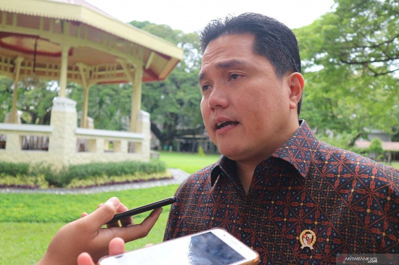 Menteri Erick: Saat pertama menjabat 53 pegawai BUMN jadi tersangka