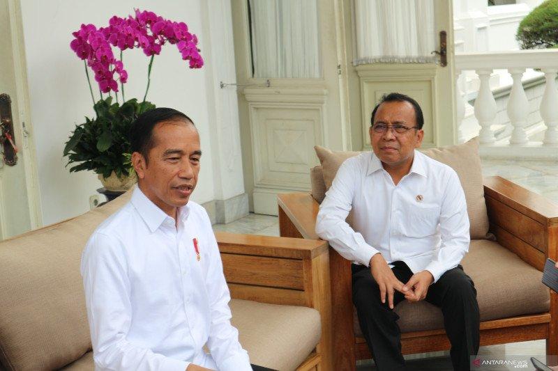 Presiden Jokowi: Ahok masuk bursa kepala badan otorita ibu kota