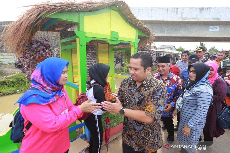 Wali Kota Tangerang apresiasi penataan 1.400 meter bantaran Cisadane