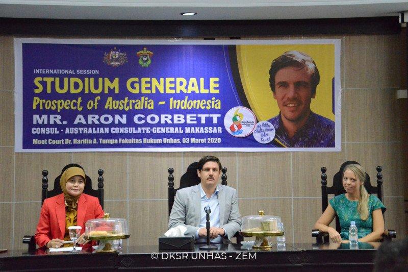 Unhas gelar kuliah umum hubungan Indonesia -- Australia