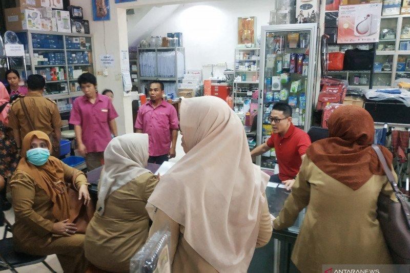 Dinkes Makassar sidak penjualan masker