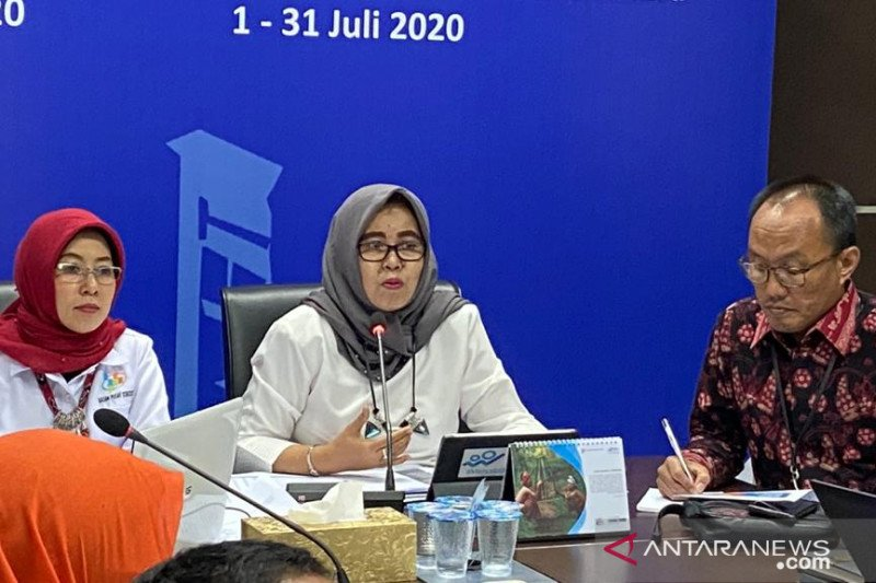 BPS: Produksi padi Sumatera Selatan turun 13,05 persen