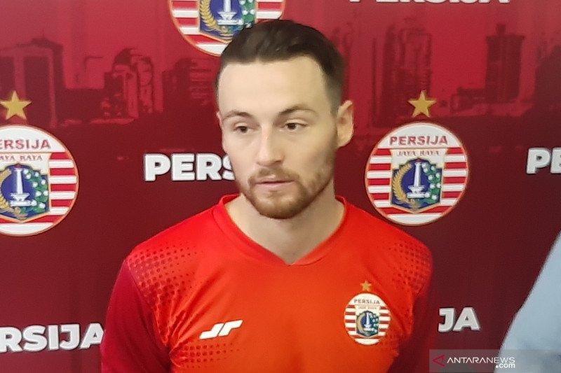 Marc Klok kecewa Persija versus Persebaya ditunda