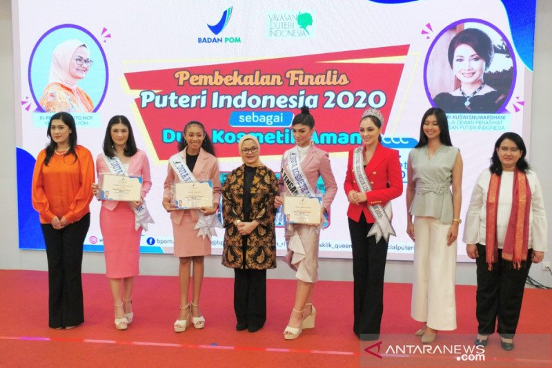 BPOM gandeng Puteri Indonesia promosikan kosmetik aman