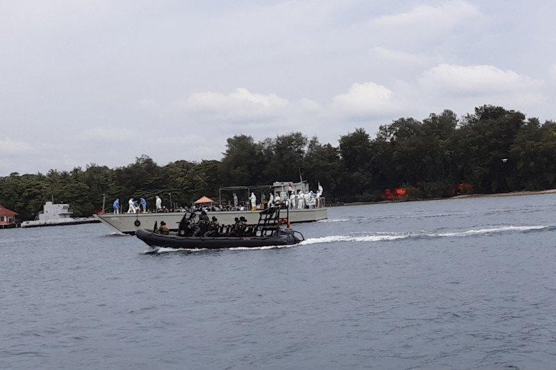 68 ABK Diamond Princess dan 10 kru masuk lokasi observasi di Pulau Sebaru