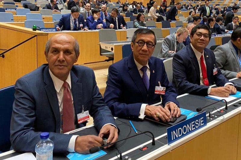 Menkumham ucapkan selamat terpilihnya Dirjen WIPO baru Daren Tang