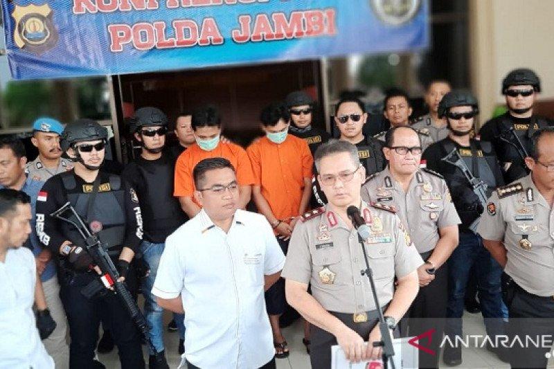 Polda Jambi Tangkap Dua Pelaku Investasi Bodong Susu Sapi Perah