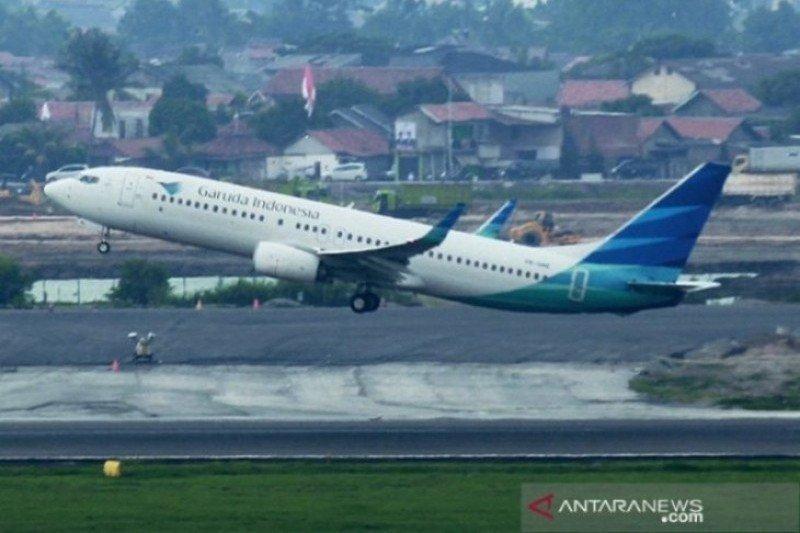 Hadapi corona, penerbangan Garuda ke Korsel beroperasi normal