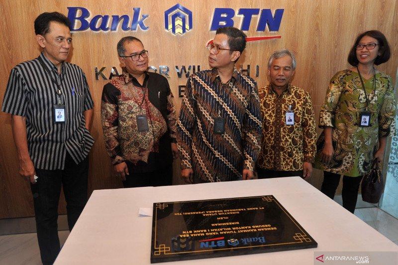 Peresmian gedung baru Kanwil 1 BTN Bekasi